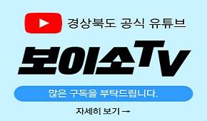 경상북도 보이소TV 홍보