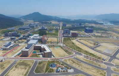경상북도 도청이전 신도시 항공사진